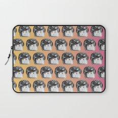 Minifigure Pattern - Hot Laptop Sleeve