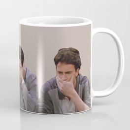 The One with Joey, Ross and Chandler face's. Coffee Mug