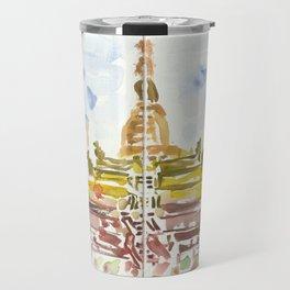 Shwesandaw Pagoda Travel Mug