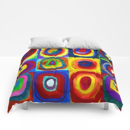 Wassily Kandinsky Color Study Comforters