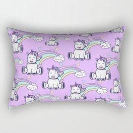 happy unicorns Rectangular Pillow