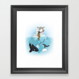 arctic Framed Art Print
