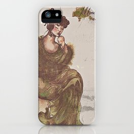 There's Moss, That's For Maternal Love iPhone Case