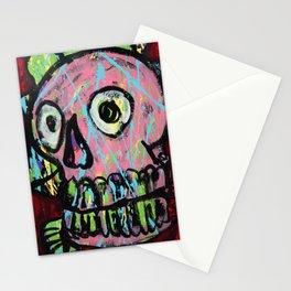 King Skull 2 Stationery Cards
