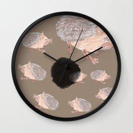 Desert Hedgehog Wall Clock