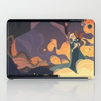mother of dragons iPad Cases featuring Mother of dragons by Ann Marcellino