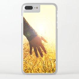 Walking Through the High Grass Clear iPhone Case