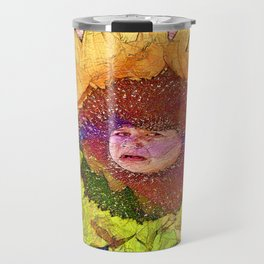 Hush Litlle Baby Sunflower Travel Mug