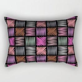 Draw simple 2 Rectangular Pillow