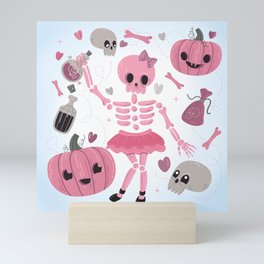 Love Potion Skeleton Dance Mini Art Print