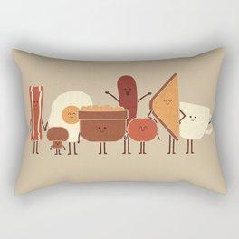 English Breakfast Rectangular Pillow