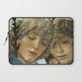 Sandro Botticelli - Angels 1. detail Laptop Sleeve