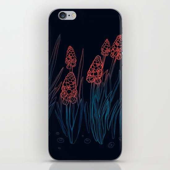 Hyacinths in the night iPhone & iPod Skin
