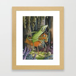 Gumby and Pokey Framed Art Print
