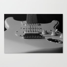 Stratocaster in Shadow Canvas Print