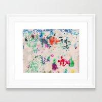 monet Framed Art Prints featuring Monet Day by Ryan van Gogh