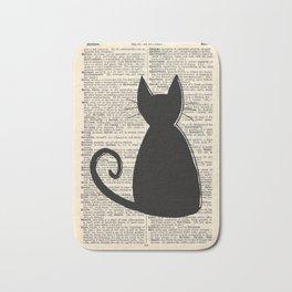 Dictionary Cat Bath Mat