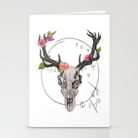 hannibal Stationery Cards featuring Hannibal by Ashley Glass