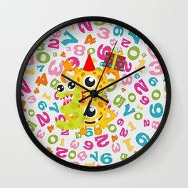 Birthday Monsters 3rd Birthday Wall Clock