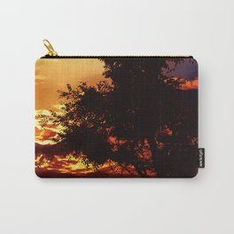 Baum im Abendrot Carry-All Pouch