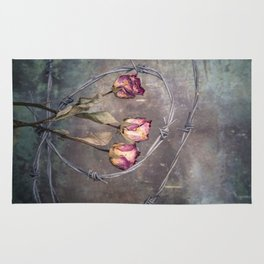 Trapped Roses Rug