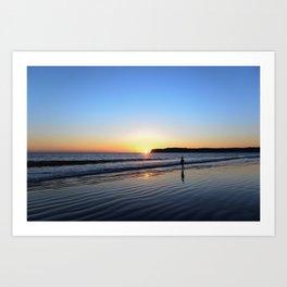 Sunset at Coronado Art Print