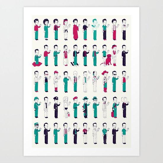 Toms Art Print