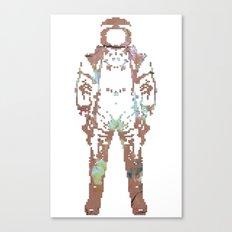 Astro Naught Canvas Print