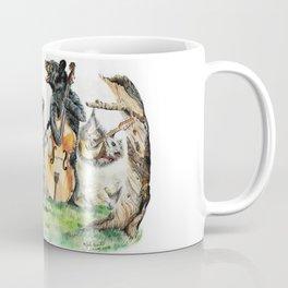 """"""" Bluegrass Gang """" wild animal music band Coffee Mug"""