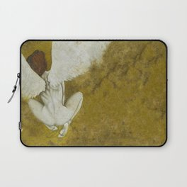 The Gold  Angel Laptop Sleeve
