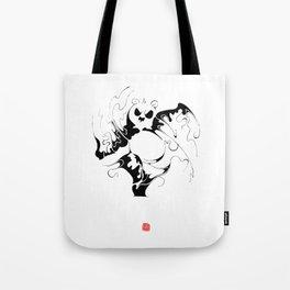 Panda fighting Tote Bag
