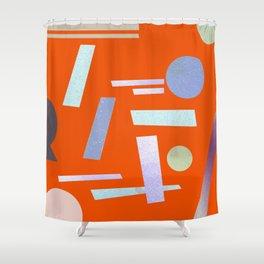 Geometry 2 Shower Curtain