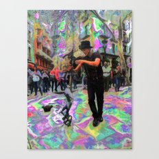 """43/52: """"Tourist in your own city/town/street"""" Canvas Print"""