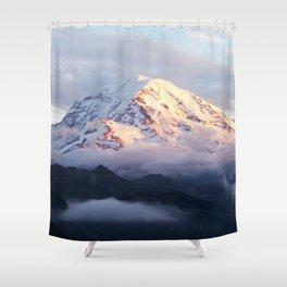 Marvelous Mount Rainier 2 Shower Curtain