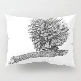 Pine cone graphite Pillow Sham