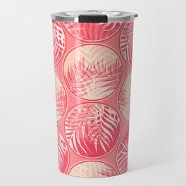 Pink Tropical Coins #society6 #decor #buyart Travel Mug
