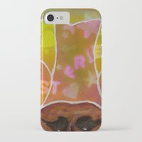 best friend iPhone & iPod Cases featuring Best Friend by Roger Wedegis