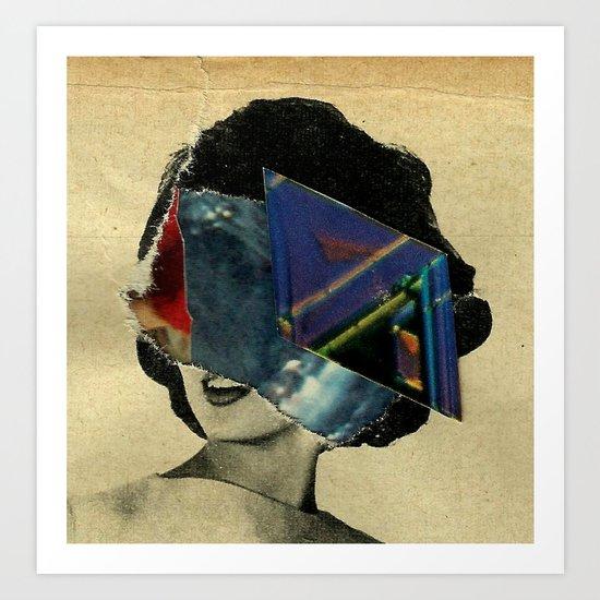 parallax_notebook_ Art Print