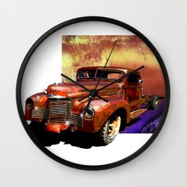 The Harvester Wall Clock