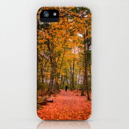 October Forest iPhone Case