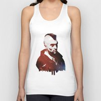 taxi driver Tank Tops featuring Taxi Driver by Mahdi Chowdhury