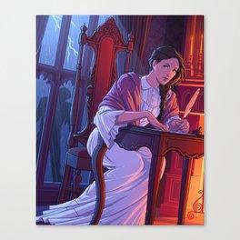 Mary Shelley Canvas Print