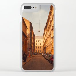 Warm light in the Winter Clear iPhone Case