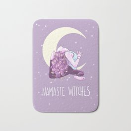 Namaste Witches, Mermaid Yogini, Yoga, Weronika Salach Bath Mat