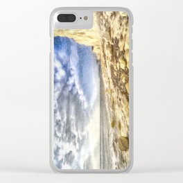 Birling Gap And Seven Sisters Art Clear iPhone Case