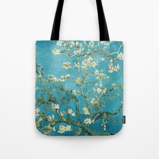 Almond Blossoms by Vincent van Gogh Tote Bag