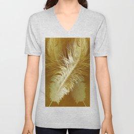 Golden Ostrich Unisex V-Neck