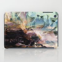 novelty iPad Cases featuring Morning Seashore Abstract by Moody Muse