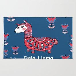 Dala Llama Rug