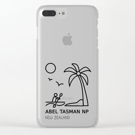 Abel Tasman National Park New Zealand Clear iPhone Case